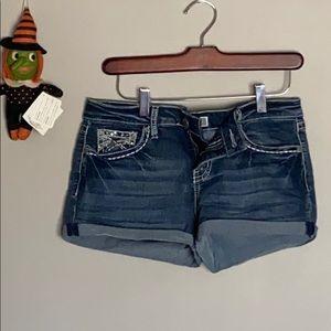 💙Soundgirl Jean shorts size 9 Juniors